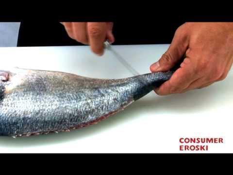 T cnicas b sicas de cocina c mo hacer filetes de pescado - Tecnicas basicas de cocina ...