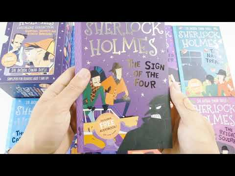 The Sherlock Holmes Children's Collection Shadows, Secrets and Stolen Treasure 10 Books Box Set