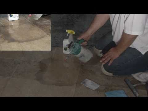 Better Bio Solutions - Gentle Giant- Cleaning Travertine