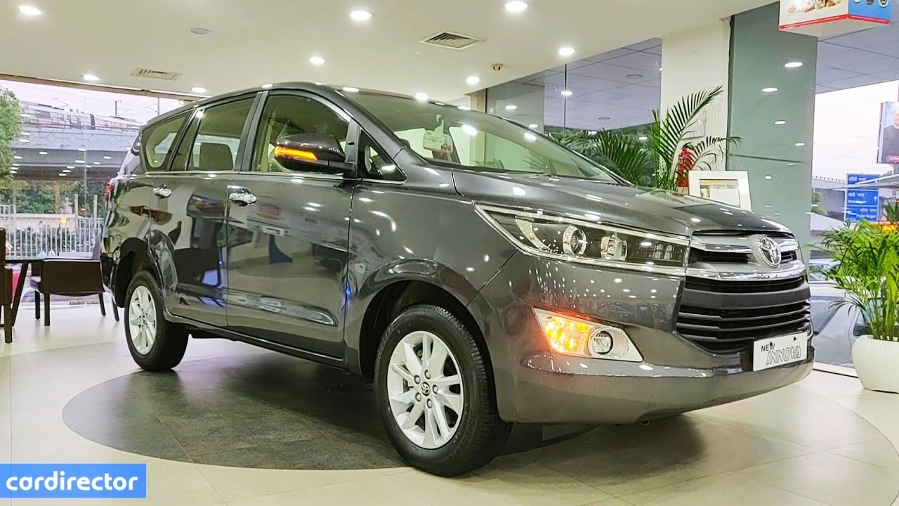 Toyota Innova Crysta 2 4 Vx 2019 Innova 2019 Vx Features Interior Exterior Real Life Review Youtube