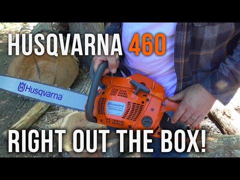 The Husqvarna 460 Rancher!   Review
