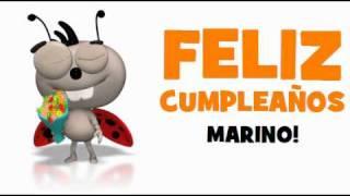 FELIZ CUMPLEAÑOS MARINO!