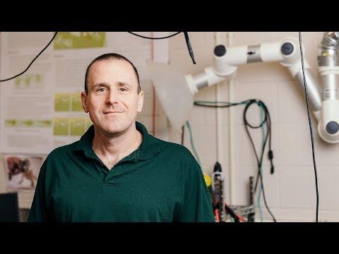Daniel Goldman and His Smart Robots