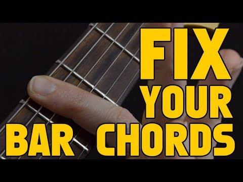 Make Playing Bar Chords Easier With One Simple Movement