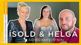Iceland: Interview with Ísold & Helga | Söngvakeppnin 2020