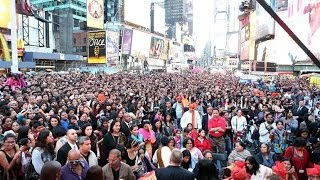 Diwali at Times Square 2017