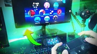 Cómo jugar a la PS Vita en un Monitor y con control de PS4!!