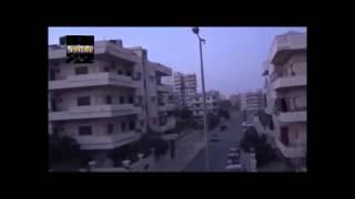 ЖУТКИЕ КАДРЫ ОБСТРЕЛА! Сирия 2014 провинция Хомс уничтожение снайперской  позиции боевиков
