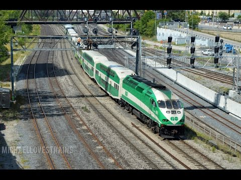 Railfanning Toronto Union Station - Meets, Endless Action, F59PH's, & More!