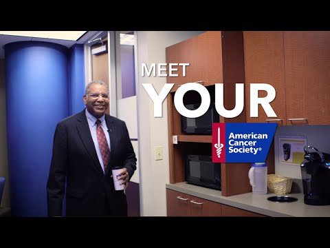 Meet Your American Cancer Society: Dr. Otis Brawley