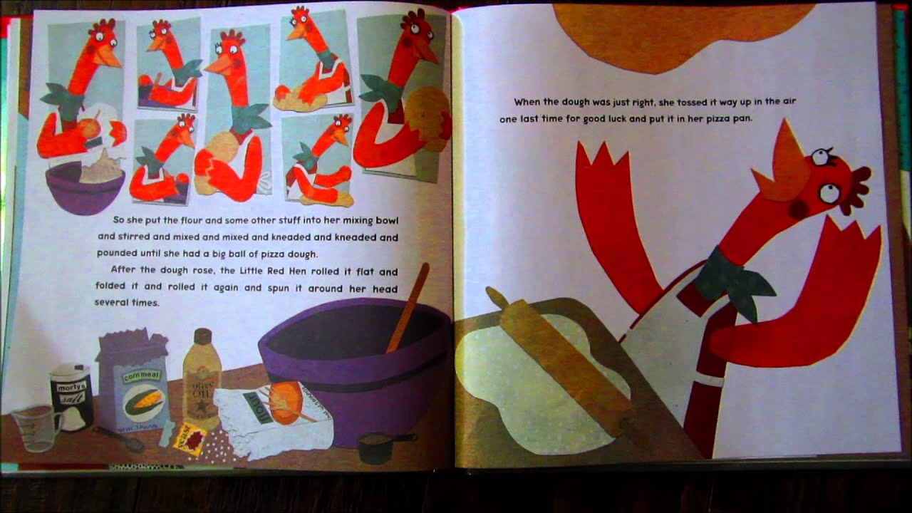 Worksheet The Little Red Hen Story Online little red hen makes a pizza youtube pizza