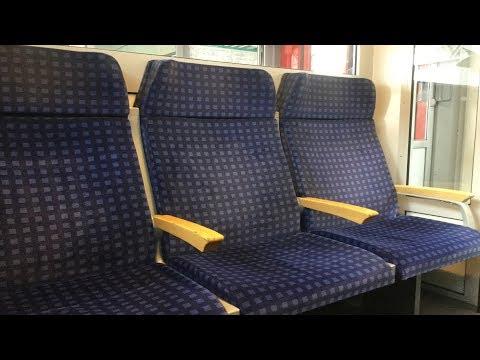 Regional Express Frankfurt-Mannheim: Mitfahrt im n-Wagen der Deutschen Bahn 2017
