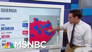 Strong Democratic Showing In Elections Sends Political Shockwaves | Rachel Maddow | MSNBC
