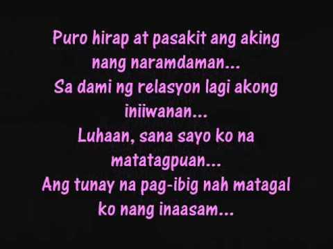 Ikaw Na Sana ikaw na sana lyrics YouTube