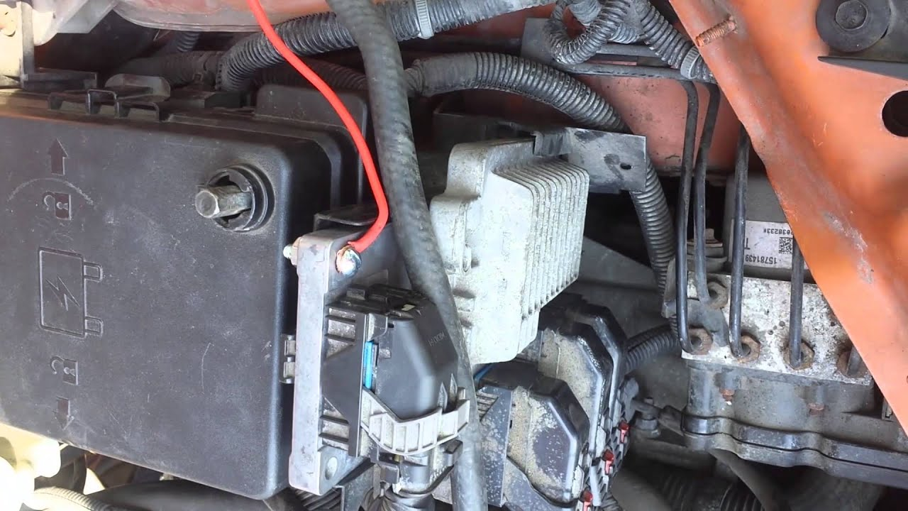 05 chevy equinox wiring diagram pioneer harness 2006-08 cobalt tcm fix! easy! bcm problem, connection issue - youtube