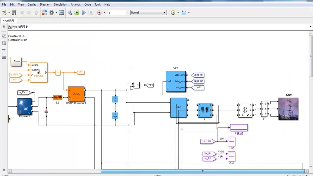 variable frequency transformer matlab simulink projects [ 1280 x 720 Pixel ]