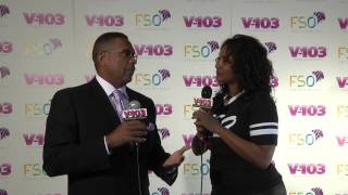 Michael Baisden And Sytonnia At V-103 FSO 2013