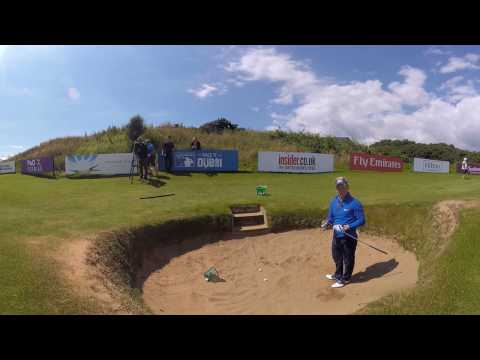 Luke Donald 360-degree bunker masterclass
