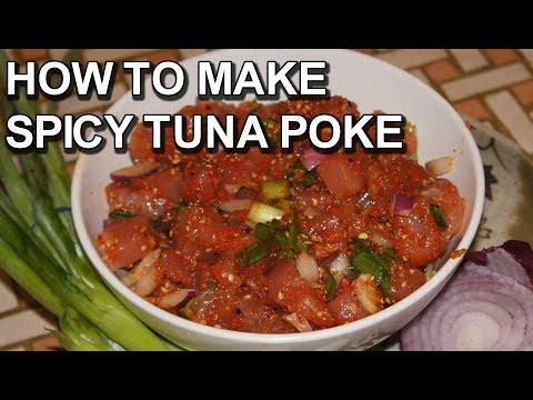 How to Make Spicy Tuna Poke