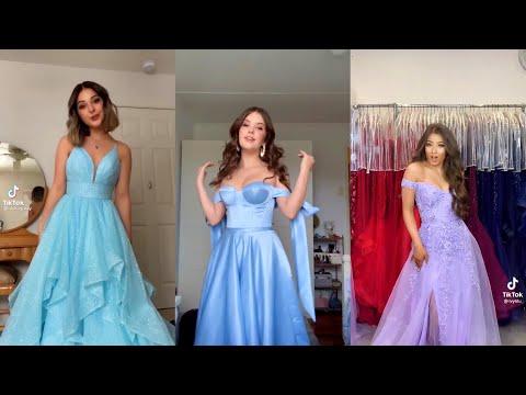 Top Prom Dresses on TikTok Compilation 2021👗💞