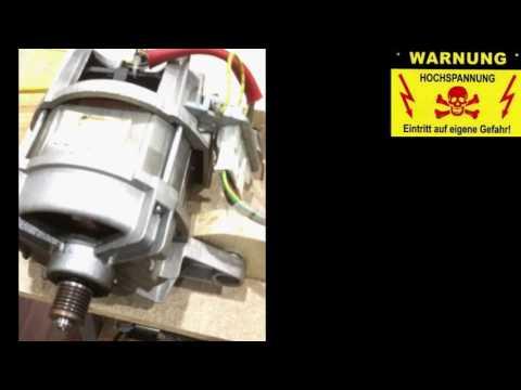 Waschmaschinen Motor Reihenschluss AC/DC