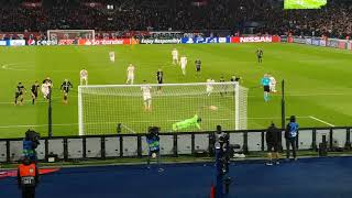 PSG vs Manchester United 06/03/2019 - Marcus Rashford's penalty goal