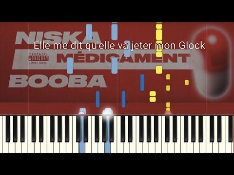 Niska - Médicament Ft. Booba (Piano Tutorial/Paroles)