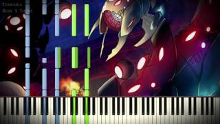 [Synthesia Piano] Terraria - Boss 3 Theme - Solo