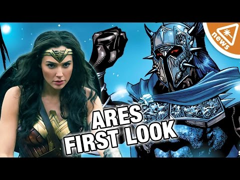 Our First Look at Wonder Woman Villain Ares! (Nerdist News w/ Jessica Chobot)