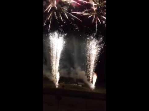 Fireworks at I 96 Speedway