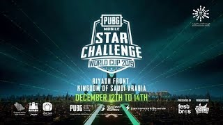 [LIVE] PUBG MOBILE STAR CHALLENGE WORLD CUP 2019   DAY 1   PMSC WC 2019