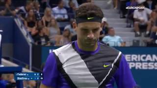 Роджер Федерер — Григор Димитров. US Open-2019. Обзор матча