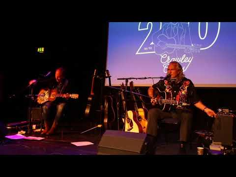 Hans Theessink & Brooks Williams @ Crawley Blues Club 4/5/18