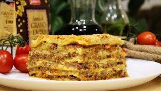Лазанья. Lasagna. Готовит Никита Сергеевич