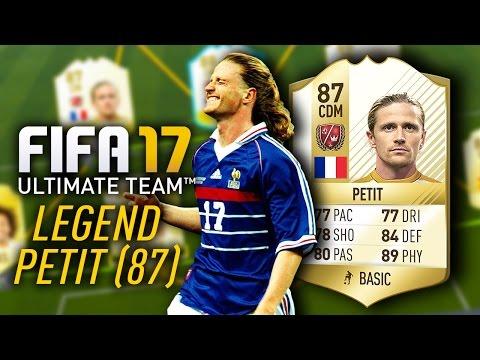 EMMANUEL PETIT (87) *NEW LEGEND* PLAYER REVIEW! FIFA 17 ULTIMATE TEAM