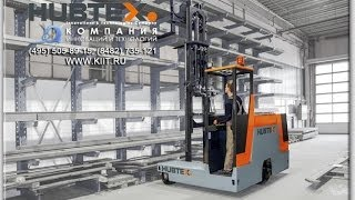 Боковой электроштабелер HUBTEX DS 27 грузоподъёмностью 2700 кг с движением во все стороны(Подробнее на сайте дистрибютора Хубтекс http://www.kiit.ru Боковой электроштабелер HUBTEX DS 27 грузоподъёмностью 2700..., 2013-12-18T14:17:54.000Z)