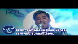 [Reaction Orang Luar Negeri & Indonesia] - ABDUL - HISTORY (One Direction) - Indonesian Idol 2018