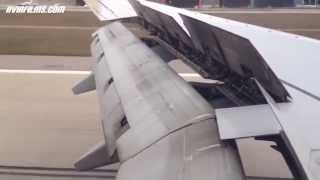Boeing 737-800 soft landing