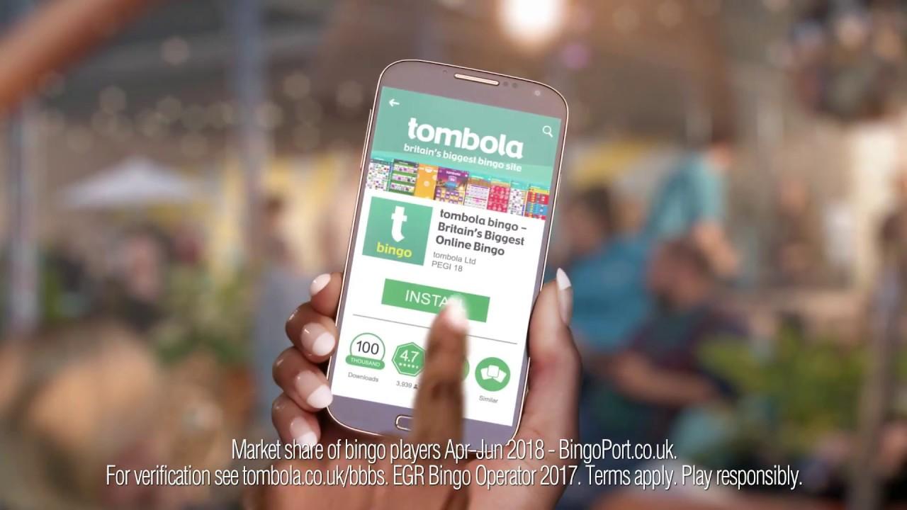 Download our bingo app