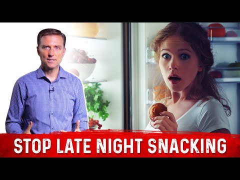 Why Should You Stop Eating Snacks At Nighttime? | Dr.Berg On Late Night Cravings