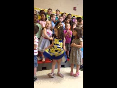 Livvie's PreK Mother's Day songs may 2015