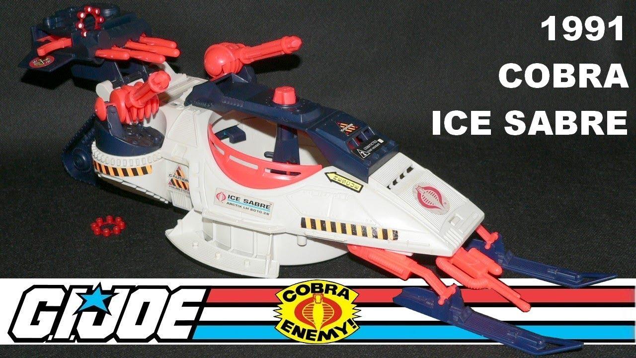 GI Joe 1991 COBRA ICE SABRE Missile