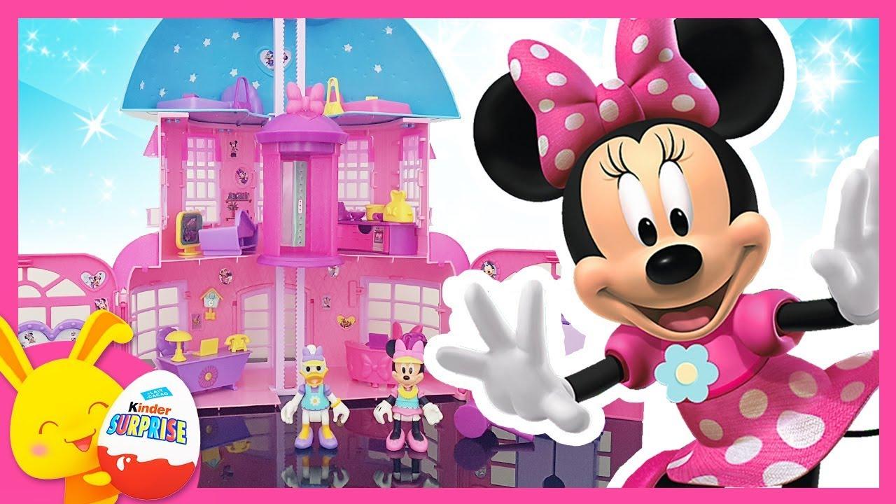 Minnie et daisy la maison de minnie imc toys mickey et - Minni et mickey ...