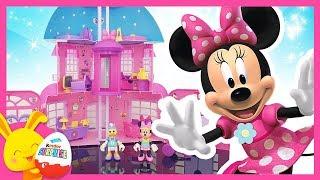 Minnie et Daisy - La maison de Minnie IMC Toys - Mickey et ses amis Top Départ - Touni Toys