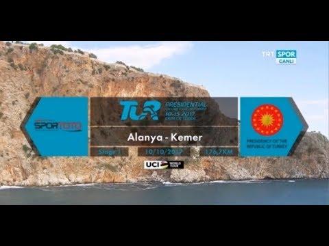 Etap 1(Alanya-Kemer/176km) 10.10.17 - 53.Cumhurbaşkanlığı Bisiklet Turu