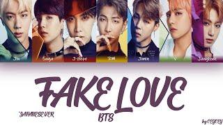 BTS (日本語字幕) – 'FAKE LOVE' (Japanese Ver.) [HAN|ROM|TÜRKÇE ALTYAZILI]