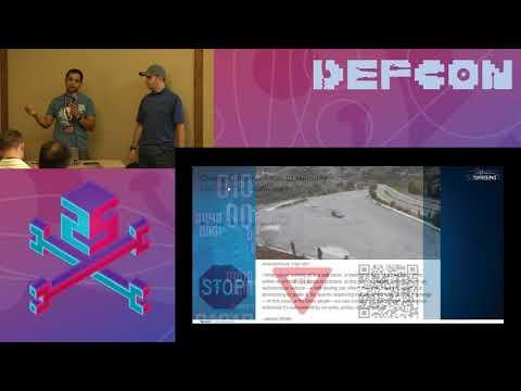 DEF CON 25 Car Hacking Village - Sameer Dixit,  Vlad Gostomelsky - Abusing Smart Cars with QR Codes