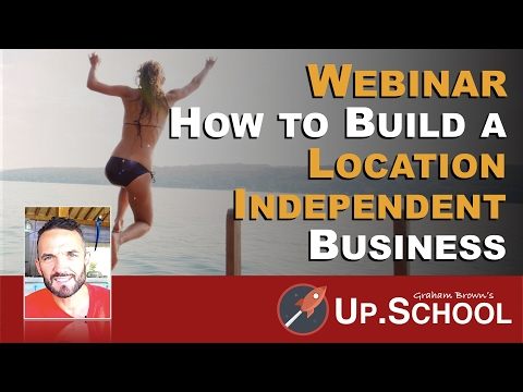 WEBINAR | How to Build a Location Independent Business for Lifestyle Entrepreneurs