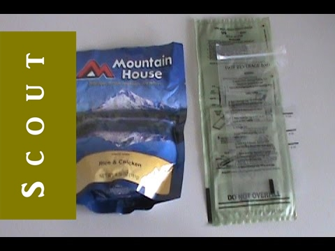 Heating Mountain House Meals With MRE Heaters - Scout Prepper