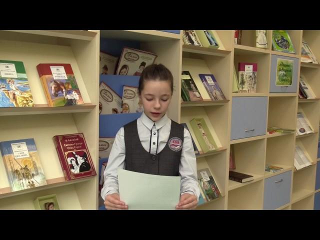 Изображение предпросмотра прочтения – АлинаКутевая читает произведение «Чародейкою Зимою…» Ф.И.Тютчева